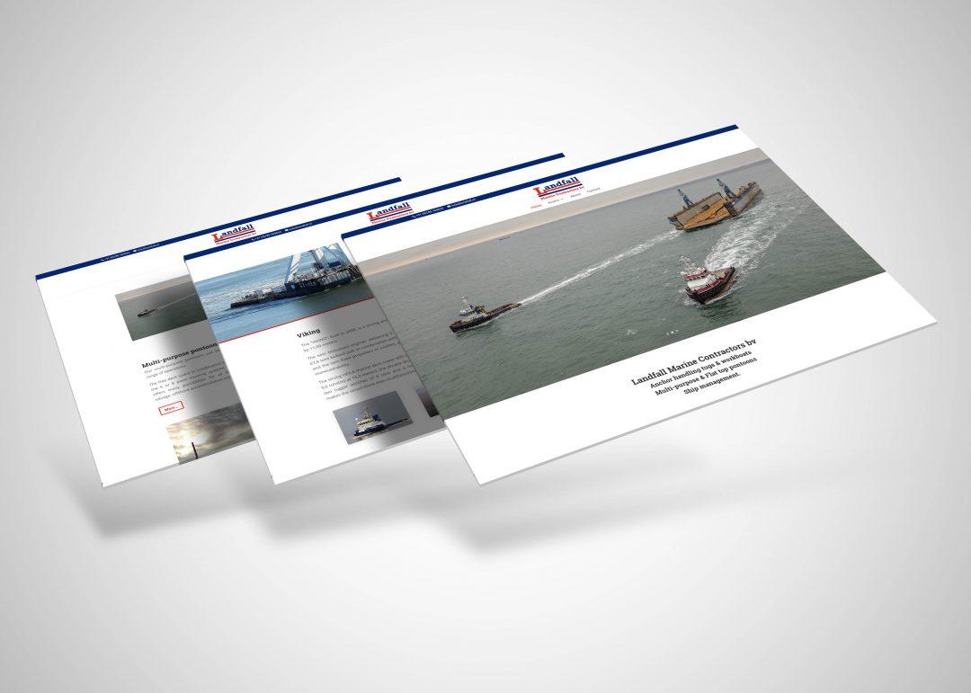 Landfall Marine website
