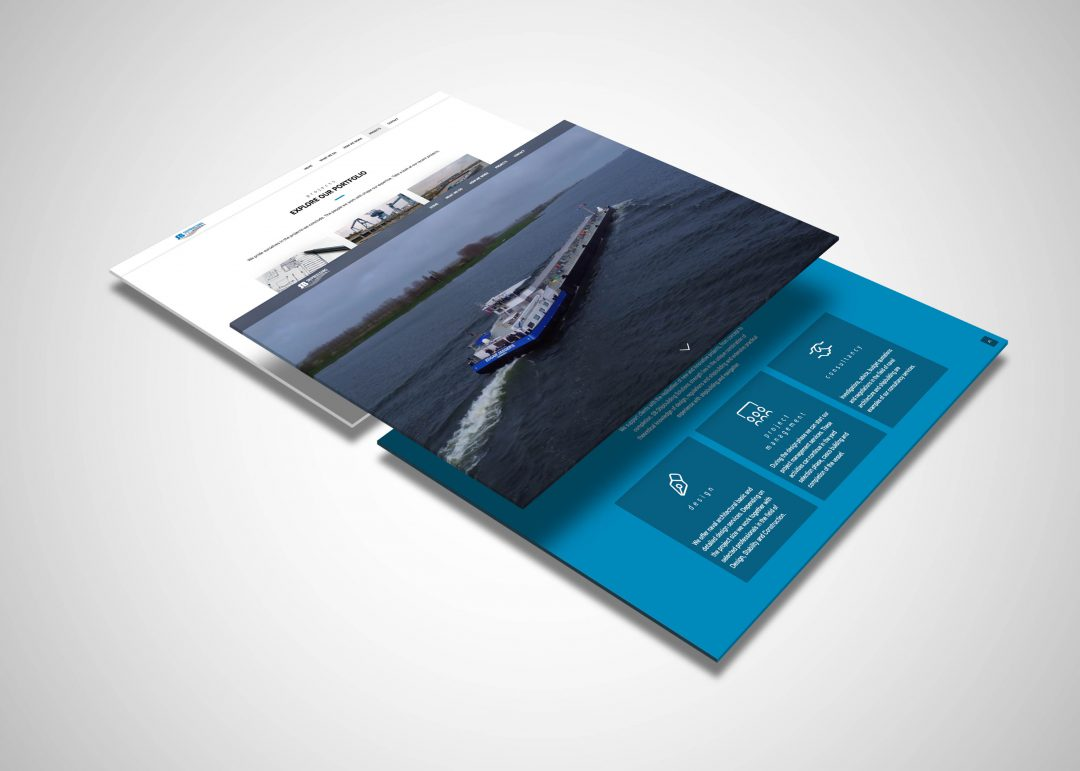 Shipbuilding Solutions website